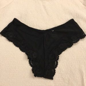 "💝💕""MAIDENFORM"" Black Lace Panties (LIKE NEW!!)"
